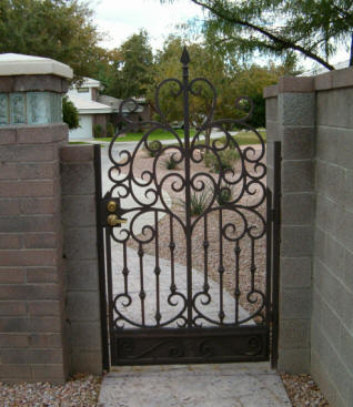 Iron Anvil Designs Custom Iron Work Gates
